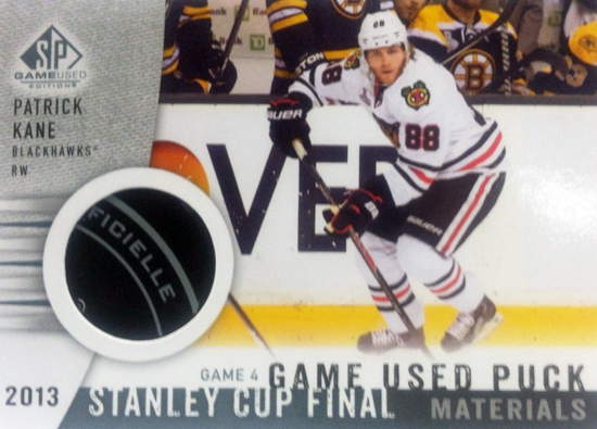 2013-14-NHL-SP-Game-Used-Stanley-Cup-Final-Puck-Patrick-Kane