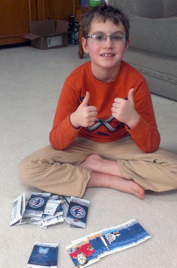 2014-Upper-Deck-National-Hockey-Card-Day-Kids-Happy-Packs-Floor