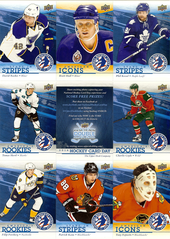 2014-Upper-Deck-National-Hockey-Card-Day-USA-9-Card-Sheet