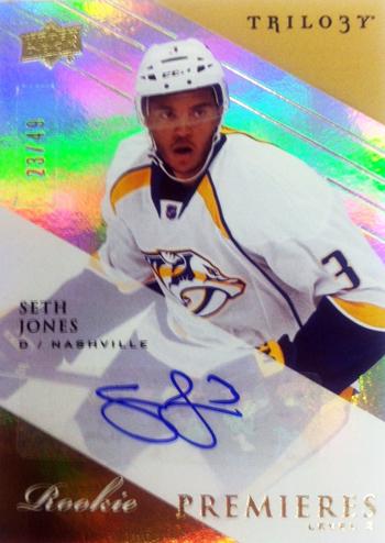 2013-14-NHL-SPx-Upper-Deck-Trilogy-Update-Seth-Jones-Autograph-Rookie