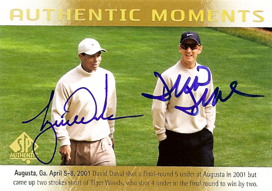 2014-SP-Authentic-Golf-Tiger-Woods-David-Duval-Authentic-Moments