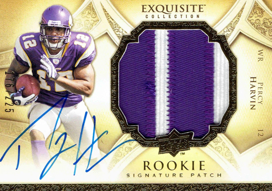 Seattle-Seahawks-2009-Percy-Harvin-Upper-Deck-Exquisite-Rookie-Autograph-Patch
