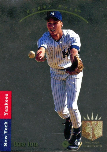 Upper-Deck-25th-Anniversary-Collector-Memories-1993-SP-Derek-Jeter-Rookie