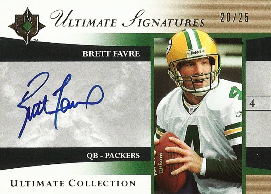 Upper-Deck-25th-Anniversary-Collector-Memories-Brett-Favre-Autograph-25