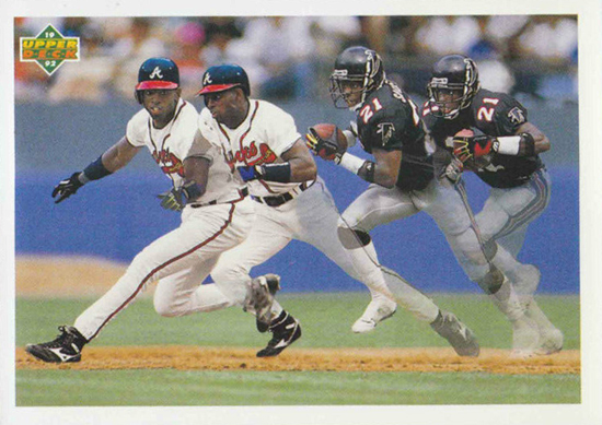 Upper-Deck-25th-Anniversary-Collector-Memories-Deion-Sanders-SP3-Football-Baseball
