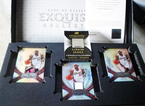 Upper-Deck-25th-Anniversary-Collector-Memories-Exquisite-Collection-LeBron-James-Player-Box