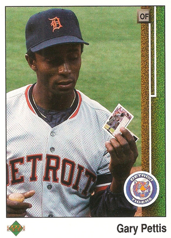 Upper-Deck-25th-Anniversary-Collector-Memories-Gary-Pettis-1989-Base