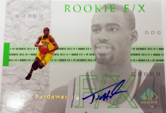 2013-14-SP-Authentic-Basketball-Autograph-Rookie-FX-Tim-Hardaway-Jr