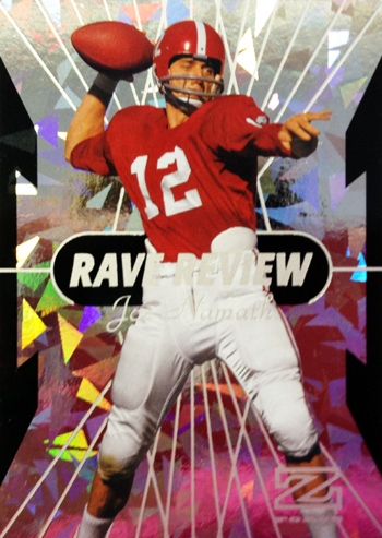 2013-Fleer-Retro-Football-Rave-Review-Joe-Namath-Live-Scan