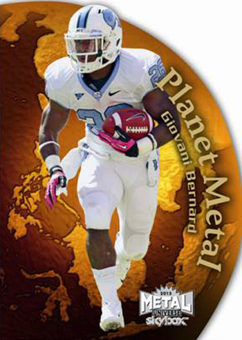 2013-Fleer-Retro-Football-Ultra-Rookie-Planet-Metal-Giovani-Bernard