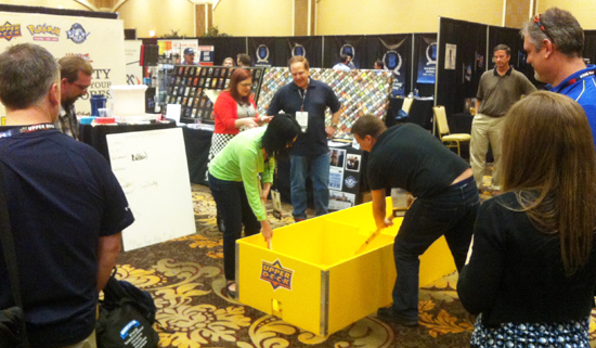 2014-Las-Vegas-Industry-Summit-Upper-Deck-Magazine-Exchange-Stick-Box-Hockey