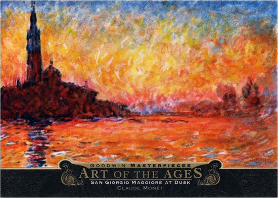2014-Upper-Deck-Goodwin-Champions-Art-of-the-Ages-Claude-Monet-San-Giorgio-Magiore-at-Dusk