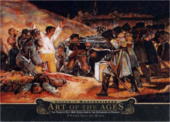 2014-Upper-Deck-Goodwin-Champions-Art-of-the-Ages-Francisco-de-Goya-The-Third-of-May-1808
