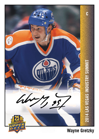 2014-Upper-Deck-Las-Vegas-Industry-Summit-25th-Anniversary-Autograph-Wayne-Gretzky