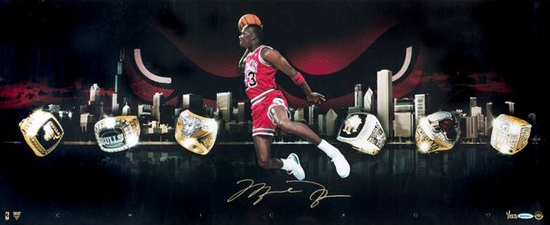 Las-Vegas-Industry-Summit-Instant-Redemption-Michael-Jordan-Autograph-City-of-Rings