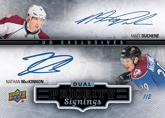 2014-NHL-Upper-Deck-Spring-Expo-Priority-Signings-Autograph-Case-Breaker-MacKinnon-Duchene