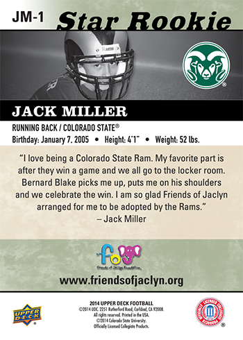 2014-Upper-Deck-Football-Star-Rookie-Jack-Miller-Back
