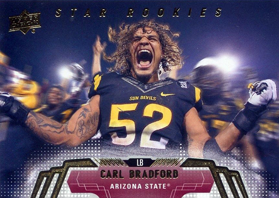 Live-Image-2014-Upper-Deck-Football-Star-Rookie-Carl-Bradford