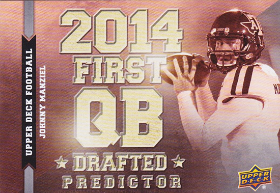 Predictor-2014-Upper-Deck-Football-Quarterback-Johnny-Manziel-Draft