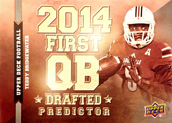 Predictor-2014-Upper-Deck-Football-Quarterback-Teddy-Bridgewater