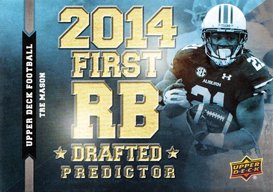 Predictor-2014-Upper-Deck-Football-Running-Back-Tre-Mason-Draft
