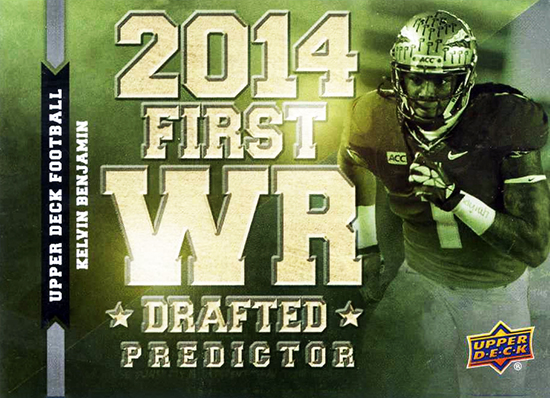 Predictor-2014-Upper-Deck-Football-Wide-Reciever-Kelvin-Benjamin-Draft