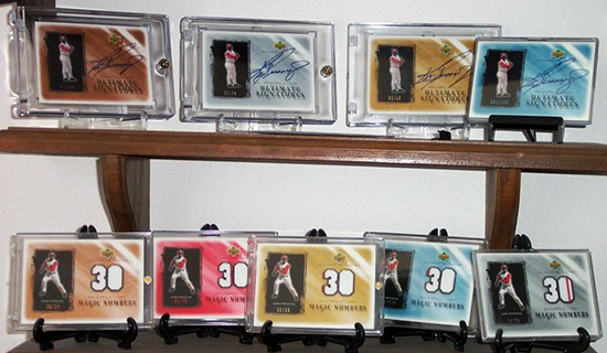 Upper-Deck-Ken-Griffey-Jr-Super-Collector-Michael-Doffing-Magicpapa-Various-Signature-Memorabilia-Cards