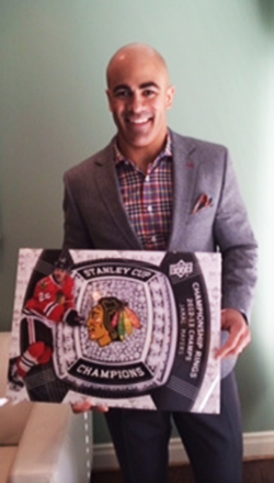 Upper-Deck-Random-Acts-of-Kindness-Jamal-Mayers-Black-Diamond-Upper-Deck-blow-up-Card-Blackhawks