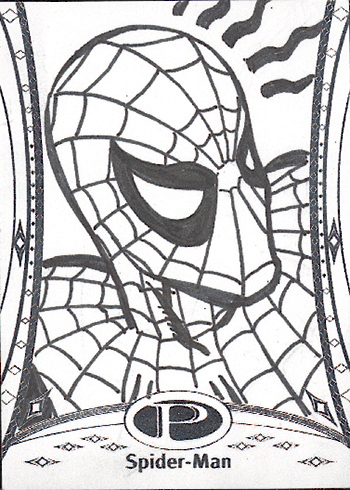 2014-Marvel-Premier-Upper-Deck-Neal-Adams-Spiderman-Sketch-Card