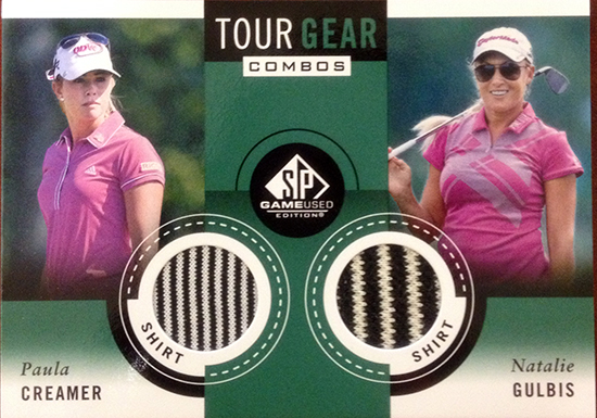 2014-SP-Game-Used-Golf-Memorabilia-Tour-Gear-Combos-Creamer-Gulbis