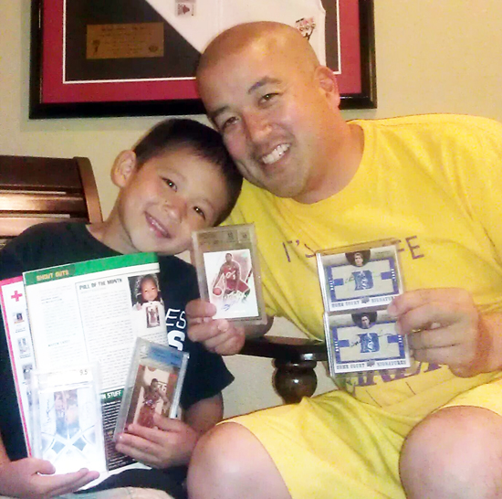 Upper-Deck-Trading-Cards-Father-of-the-Year-Collect-with-Kids-Eric-Kageyama