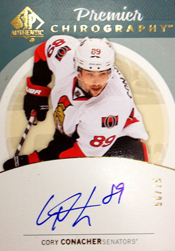 2013-14-NHL-SP-Authentic-Autographed-Premier-Chirography-Corey-Conacher
