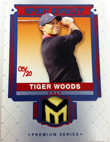 2014-Goodwin-Champions-Memorabilia-Sports-Royalty-Tiger-Woods-Golf-1