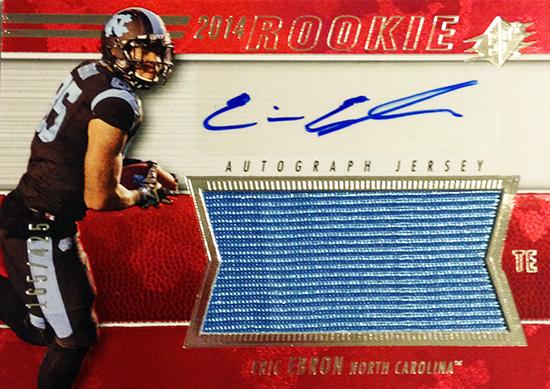 2014-SPx-Football-Autograph-Rookie-Jersey-Eric-Ebron