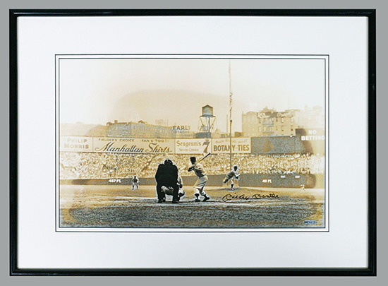 Beckett-Auctions-Mickey-Mantle-Photo-Autographed-UDA