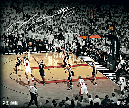 Group-Gift-Idea-Grad-Graduate-LeBron-James-Autograph-The-Shot-Photograph