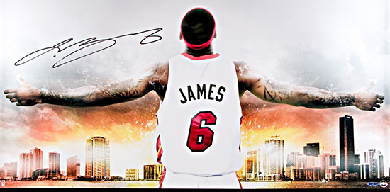 http://upperdeckstore.com/lebron-james-autographed-witness-miami-ii-photo.html