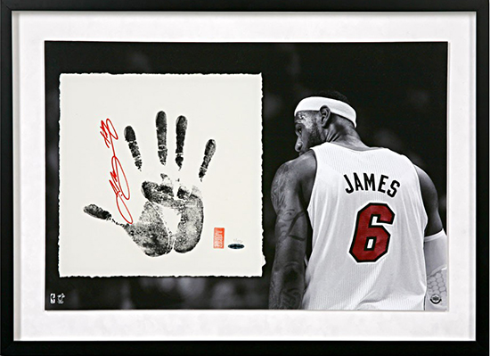 Group-Gift-Idea-The-Man-Who-Has-Everything-Autographed-LeBron-James-Tegata-Memorabilia