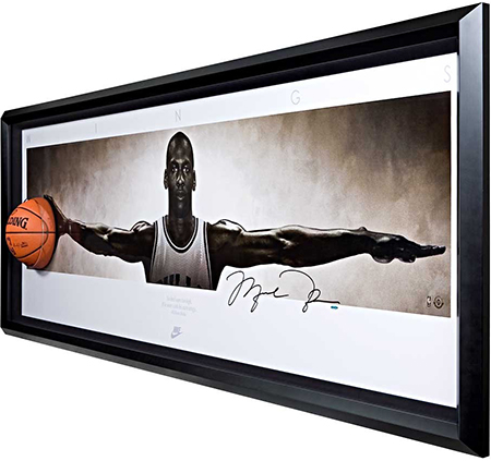 Group-Gift-Idea-The-Man-Who-Has-Everything-Autographed-Michael-Jordan-Wings-Breaking-Through-Memorabilia