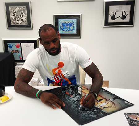 lebron james autograph - photo #44
