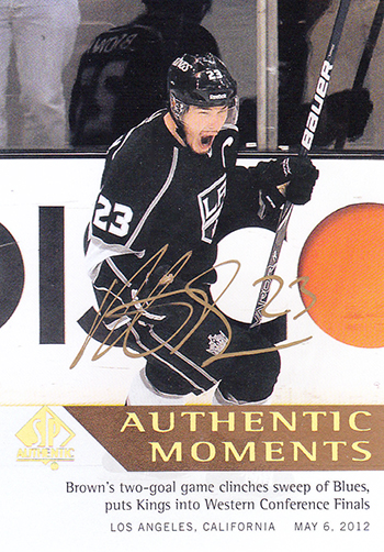 Los-Angeles-Kings-Blog-Authentic-Moments-Autograph-Dustin-Brown-Autograph