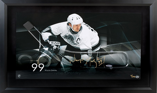 NHL-Stanley-Cup-Final-Los-Angeles-Kings-Wayne-Gretzky-Upper-Deck-Authenticated-Autographed-Acrylic-Stick-Blade