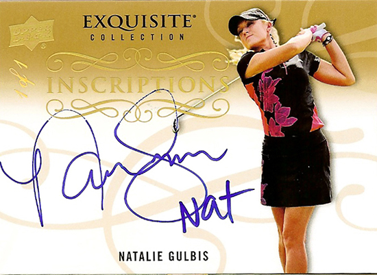 2014-Exquisite-Golf-Inscripations-Autograph-Gold-One-of-One-Natalie-Gulbis