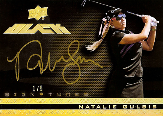 2014-Exquisite-Golf-Upper-Deck-Black-Signatures-Gold-Natalie-Gulbis