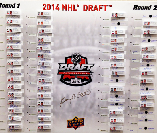 2014-NHL-Draft-Upper-Deck-Gauntlet-Top-Draft-Picks-Board
