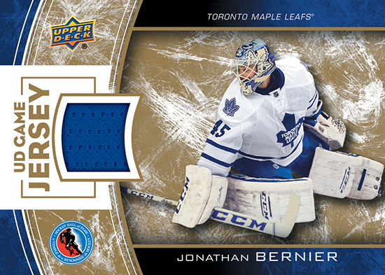 2014-Upper-Deck-Hockey-Hall-of-Fame-Team-Fan-Days-Exclusive-Game-Worn-Jersey-Card-Jonathan-Bernier