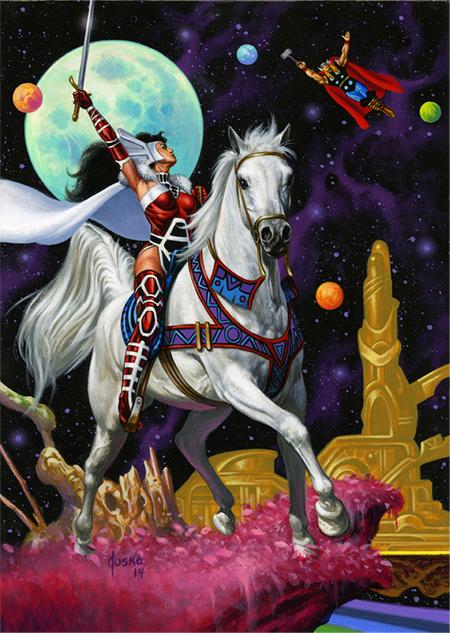 Joe-Jusko-Marvel-Masterpiece-Artist-Spotlight-Upper-Deck-Lady-Sif