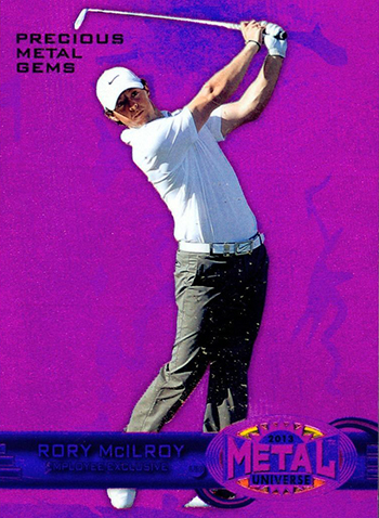 Rory-McIlroy-Golf-Collectibles-Card-Rookie-Best-2013-Employee-Card-Precious-Metal-Gems
