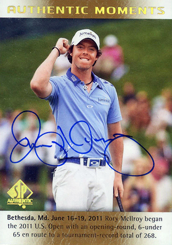 Rory-McIlroy-Golf-Collectibles-Card-Rookie-Best-2014-SP-Authentic-Moments-Autograph