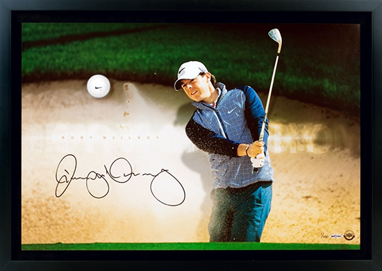 Rory-McIlroy-Golf-Collectibles-Signed-Memorabilia-Breaking-Through-Autograph-Ball